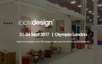 100%design. Olympia London September 2017